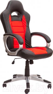 Кресло офисное Седия Ferrari Eco (черный/красный)