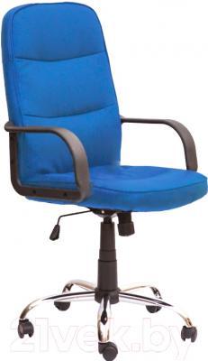 Кресло офисное Седия Manager CN (синий)