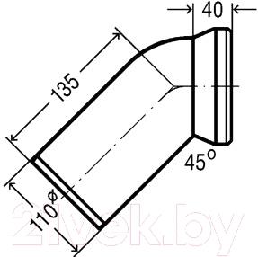 Труба Viega 101718 - схема