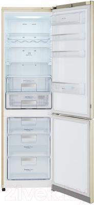 Холодильник с морозильником LG GA-B489SEKZ