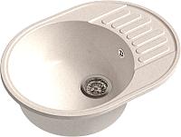Мойка кухонная GranFest-Eco Eco-58 (белый) -