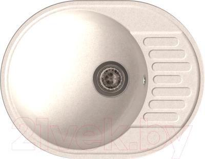 Мойка кухонная GranFest-Eco Eco-58 (белый)