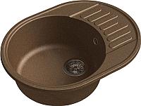 Мойка кухонная GranFest-Eco Eco-58 (терракот) -