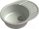 Мойка кухонная GranFest-Eco Eco-58 (серый) -