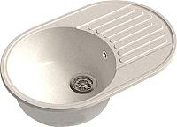 Мойка кухонная GranFest-Eco Eco-18 (белый) -