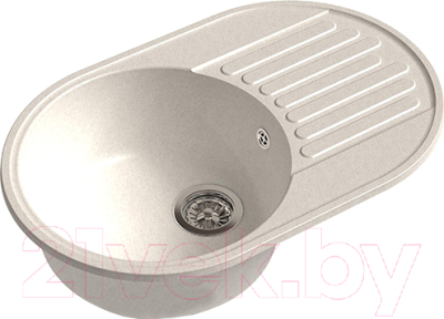 Мойка кухонная GranFest-Eco Eco-18 (белый)