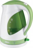Электрочайник BBK EK1700P (белый/зеленый) -