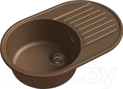 Мойка кухонная GranFest-Eco Eco-18 (терракот)