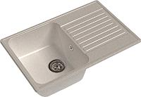 Мойка кухонная GranFest-Eco Eco-78 (белый) -