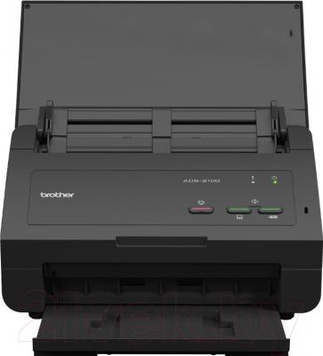 Протяжный сканер Brother ADS-2100