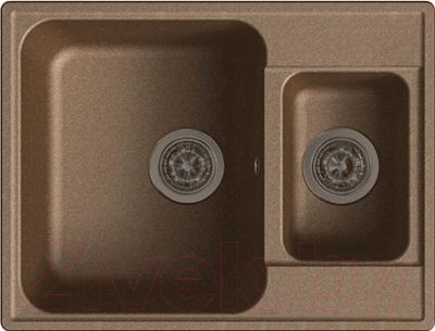 Мойка кухонная GranFest-Eco Eco-09 (терракот)