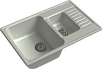 Мойка кухонная GranFest-Eco Eco-21K (серый) -