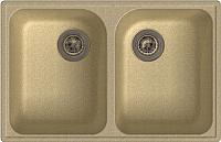 Мойка кухонная GranFest-Eco Eco-15 (бежевый) -