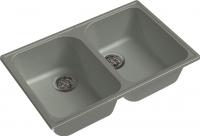 Мойка кухонная GranFest-Eco Eco-15 (серый) -