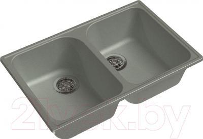 Мойка кухонная GranFest-Eco Eco-15 (серый)