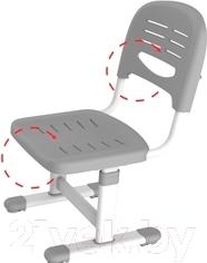 Парта+стул Sundays B201 (розовый) - вентилируемый стул