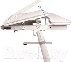 Парта Sundays E502 (серый) - регулировка наклона столешницы
