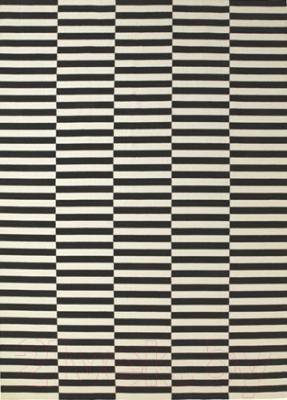 Ковер Ikea Стокгольм 901.032.54 (черный/белый с оттенком)