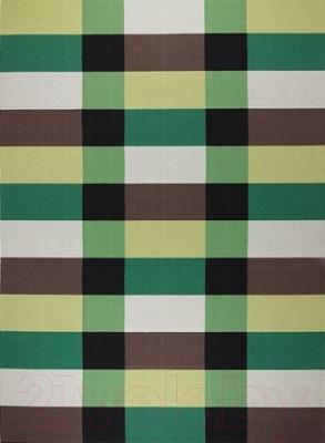 Ковер Ikea Стокгольм 902.394.22 (зеленый в клетку)