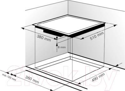 Индукционная варочная панель Zigmund & Shtain CIS 018.40 SX