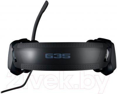 Наушники-гарнитура Logitech G35 Surround Sound Headset / 981-000549