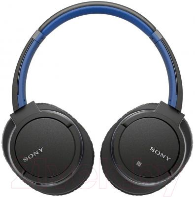 Наушники-гарнитура Sony MDR-ZX770BT (синий)