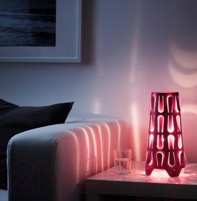 Лампа Ikea Каюта 003.080.85 (темно-розовый)