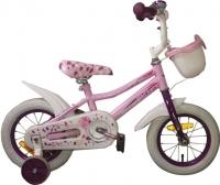 Детский велосипед с ручкой Aist Wiki (12, розовый) -