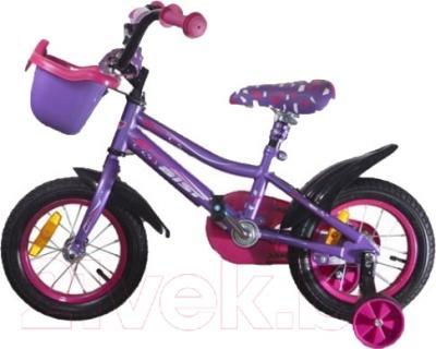 Детский велосипед Aist Wiki (16, фиолетовый)