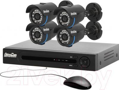 Комплект видеонаблюдения AdvoCam VideoKit-404