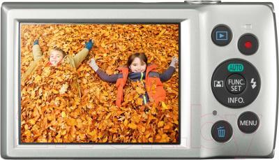 Компактный фотоаппарат Canon IXUS 175 (серебристый)