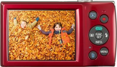 Компактный фотоаппарат Canon IXUS 175 (красный)