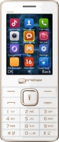 Мобильный телефон Micromax X2420 (белый/шампань) -