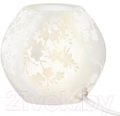 Лампа Ikea Кнуббиг 402.493.86 (белый, цветы вишни)