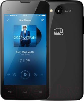 Смартфон Micromax Bolt D306 (черный)
