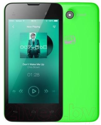 Смартфон Micromax Bolt D306 (зеленый)