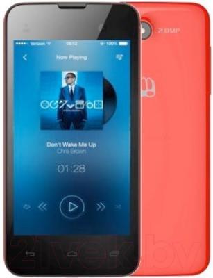 Смартфон Micromax Bolt D306 (красный)