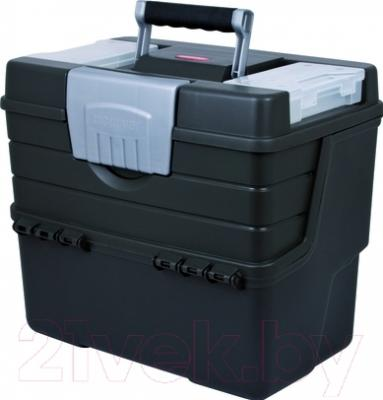 Ящик для инструментов Curver 02903-976-00 / 159619 (графитовый/серебристый)