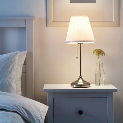 Лампа Ikea Орстид 702.806.34 (никелированный, белый)