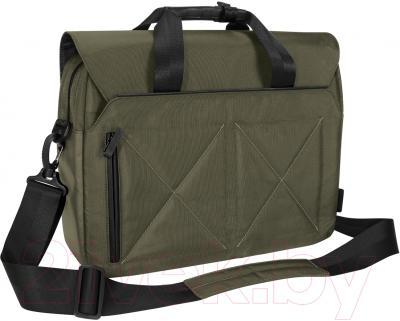 Сумка для ноутбука Targus TBT25305EU-70 (черный/зеленый)