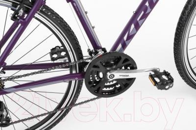 Велосипед Kross Evado 1.0 2016 (L, фиолетовый матовый)