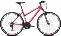 Велосипед Kross Evado 1.0 2016 (L, рубиновый/малиновый матовый) -