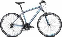 Велосипед Kross Evado 2.0 2016 (M, графитовый/синий матовый) -