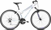 Велосипед Kross Evado 2.0 2016 (M, белый/синий матовый) -