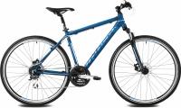 Велосипед Kross Evado 3.0 2016 (L, синий/синий матовый) -