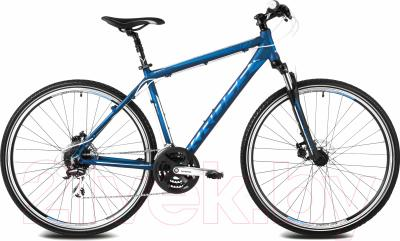 Велосипед Kross Evado 3.0 2016 (L, синий/синий матовый)