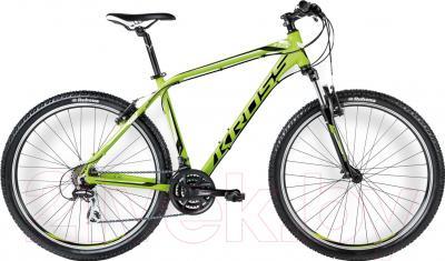 Велосипед Kross Hexagon R3 2016 (M, лайм/черный глянцевый)