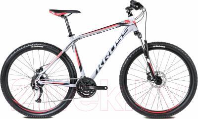 Велосипед Kross Hexagon R5 2016 (L, серый/черный/красный матовый)