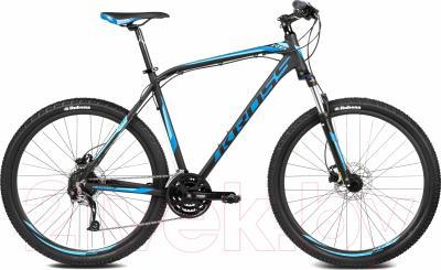 Велосипед Kross Hexagon R6 2016 (L, черный/синий матовый)
