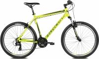 Велосипед Kross Hexagon X1 2016 (L, лайм/черный глянцевый) -